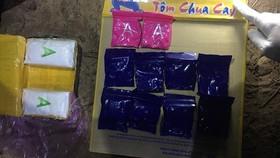 Bắt giữ đối tượng từ Lào vận chuyển 6.000 viên ma túy vào biên giới