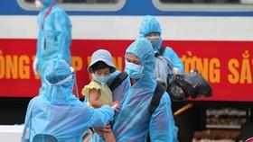 Hơn 500 người dân khó khăn được tỉnh Quảng Trị đón về quê đợt 2 bằng tàu hỏa