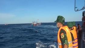Quảng Trị: Phát hiện nhiều tàu giã cào đánh bắt trái phép