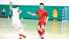 Đội tuyển futsal Việt Nam có lợi thế giữ sạch lưới trên sân nhà. Ảnh: LFA