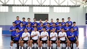 Sahako là đội bóng vô địch lượt đi Giải futsal VĐQG 2021. Ảnh: CLB