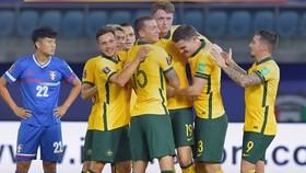 Australia toàn thắng tại vòng loại thứ 2 World Cup 2022. Ảnh: AFC