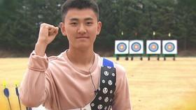 Cung thủ Kim Je-deok đã có màn chào sân Olympic quá ấn tượng. Ảnh: TELLER