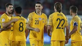21 cầu thủ của Australia được triệu tập đang thi đấu ở nước ngoài. Ảnh: AP