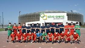 Đội tuyển futsal Việt Nam đang tập huấn tại Tây Ban Nha chuẩn bị cho Futsal World Cup 2021