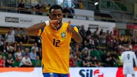 Đội tuyển futsal Brazil sở hữu hàng công cực mạnh. Ảnh: CBF