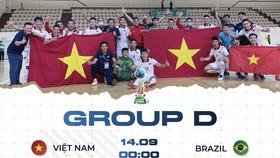 Lịch thi đấu của độii tuyển Việt Nam tại bảng D. Ảnh: TSNFC