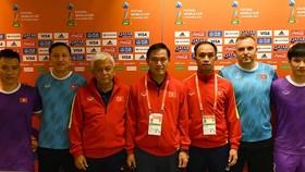 Những thành viên của đội tuyển Việt Nam hiện tại từng tham dự Futsal World Cup 2016. Ảnh: ANH TRẦN
