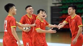 Quên đi thất bại trước Brazil, đội tuyển Việt Nam cực kỳ thoải mái trước khi gặp Panama ở trận đấu quan trọng. Ảnh: QUANG THẮNG