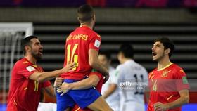 Tây Ban Nha đã giành chiến thắng nghẹt thở 4-2 trước Nhật Bản. ẢNH: GETTY