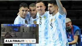 Messi hào hứng khi Argentina loại Brazil ở Futsal World Cup