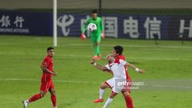 Trung Quốc hòa Syria trước khi gặp Việt Nam ở vòng loại World Cup 2022. Ảnh: GETTY