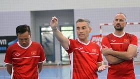 Cựu HLV đội tuyển futsal Việt Nam Miguel Rodrigo trở thành ứng viên lớn nhất dẫn dắt Thái Lan. Ảnh: DŨNG PHƯƠNG