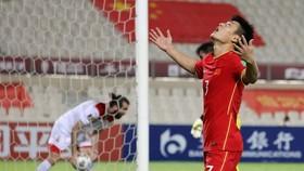Trung Quốc chưa tung ra được pha dứt điểm trúng đích nào ở hai trận đầu tiên thuộc vòng loại cuối cùng World Cup 2022. Ảnh: AFP