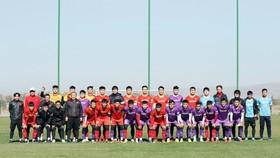 Thế hệ cầu thủ U23 đang chuẩn bị cho vòng loại U23 châu Á 2022. Ảnh: NHẬT ĐOÀN