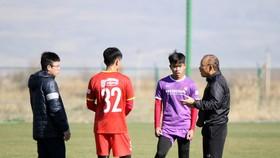 HLV Park Hang-seo đã tìm ra được bộ khung ưng ý nhất của U23 Việt Nam. Ảnh: NHẬT ĐOÀN
