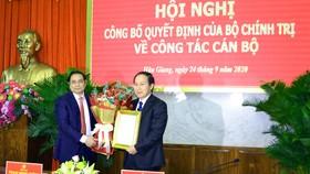 Bộ Chính trị chuẩn y đồng chí Lê Tiến Châu giữ chức Bí thư Tỉnh ủy Hậu Giang