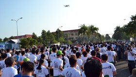 """Hơn 7.100 vận động viên tham gia Giải marathon quốc tế """"Mekong delta marathon"""""""