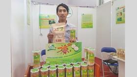 Nhiều sản phẩm mới lạ của nông dân tại Hội chợ Nông nghiệp quốc tế Việt Nam