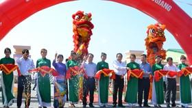 Khánh thành nhà máy điện mặt trời đầu tiên tại Hậu Giang