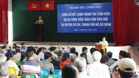 Công bố kết luận thanh tra toàn diện dự án Công viên Sài Gòn Safari