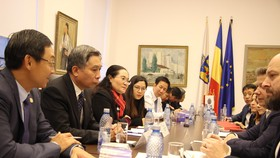 Đoàn đại biểu cấp cao HĐND TPHCM thăm và làm việc tại Romania