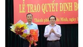 Bổ nhiệm Trưởng Ban Tuyên giáo huyện ủy Hóc Môn làm Phó Chánh Văn phòng Thành ủy