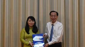 Đồng chí Vũ Thị Huỳnh Mai làm Phó Chánh Văn phòng UBND TPHCM