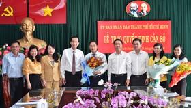 Phê chuẩn kết quả bầu Chủ tịch UBND huyện Bình Chánh với đồng chí Đào Gia Vượng