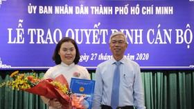 Phê chuẩn kết quả bầu đồng chí Lê Thị Thanh Thảo làm Chủ tịch UBND quận 6