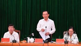 """Bí thư Thành ủy TPHCM Nguyễn Văn Nên: """"Giải quyết công việc trôi chảy phục vụ người dân"""""""