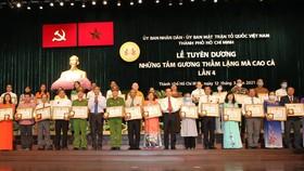 TPHCM tuyên dương 129 tấm gương thầm lặng mà cao cả