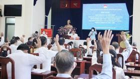 Chuẩn bị lấy ý kiến cử tri nơi cư trú đối với đồng chí Nguyễn Thiện Nhân và những người ứng cử ĐBQH, ĐB HĐND