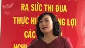 Cử tri thống nhất giới thiệu đồng chí Phan Thị Thắng ứng cử ĐB HĐND TPHCM