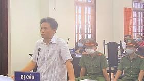 Bị cáo Quách Duy tại tòa