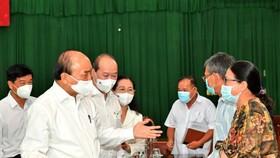 Chủ tịch nước Nguyễn Xuân Phúc: Trong vòng 2 tháng, TPHCM phải giải quyết dứt điểm vướng mắc tại dự án Safari