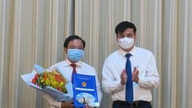 Ông Lê Quốc Tuấn được bổ nhiệm Chủ tịch HĐTV Công ty thoát nước đô thị TPHCM