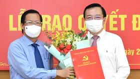 Đồng chí Lê Hồng Sơn làm Phó trưởng Ban Tuyên giáo Thành ủy TPHCM