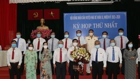 Đồng chí Triệu Đỗ Hồng Phước tái đắc cử Chủ tịch UBND huyện Nhà Bè  