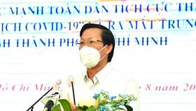 TPHCM phát động phong trào phát huy sức mạnh toàn dân tham gia phòng chống dịch Covid-19