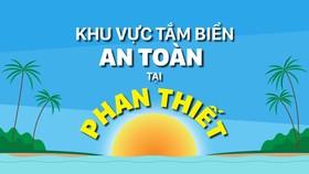 Những khu vực tắm biển an toàn tại Phan Thiết