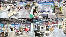 Adidas Saigon Centre lớn nhất Việt Nam