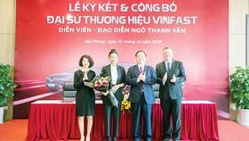 Ngô Thanh Vân làm đại sứ thương hiệu ô tô Vinfast