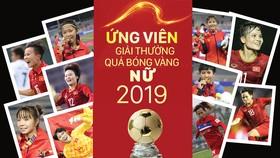 Ứng viên giải thưởng Quả bóng vàng nữ 2019