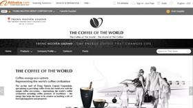 Trung Nguyên Legend khai trương Thế giới cà phê trên Amazon và Alibaba
