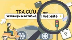 3 bước tra cứu xe vi phạm giao thông trên website