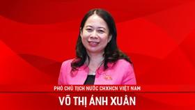 Phó Chủ tịch nước Võ Thị Ánh Xuân