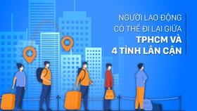 Người lao động đi lại giữa TPHCM và Bình Dương, Đồng Nai, Long An, Tây Ninh như thế nào?