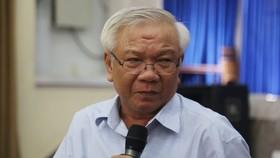Ông  Lê Văn Dẽ, nguyên Giám đốc Sở Xây dựng Khánh Hòa