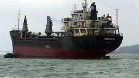 Cận cảnh cuộc giải cứu tàu đắm, mắc cạn ở vịnh Quy Nhơn
